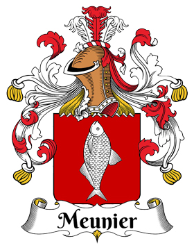 Familia Meunier - Origen del apellido